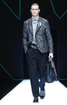 EMPORIO ARMANI MENSWEAR FALL WINTER 2018 MILAN51