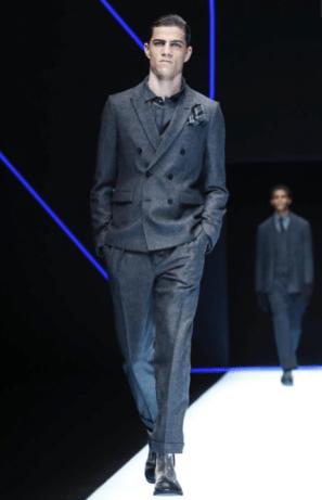 EMPORIO ARMANI MENSWEAR FALL WINTER 2018 MILAN6