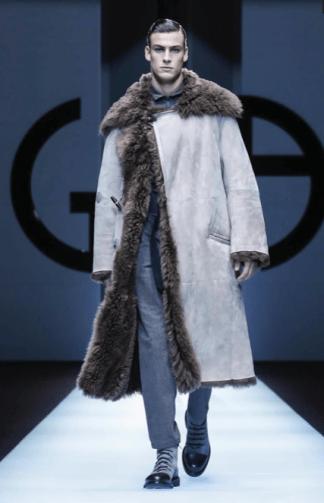 GIORGIO ARMANI MENSWEAR FALL WINTER 2018 MILAN20