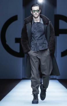 GIORGIO ARMANI MENSWEAR FALL WINTER 2018 MILAN95