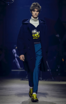 KENZO MEN & WOMEN MENSWEAR FALL WINTER 2018 PARIS17