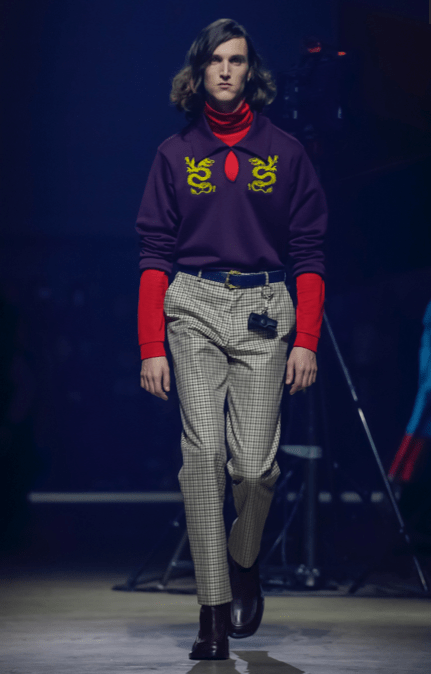 KENZO MEN & WOMEN MENSWEAR FALL WINTER 2018 PARIS26