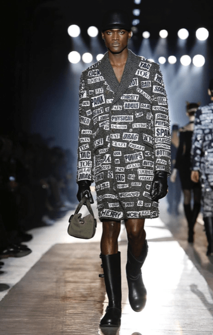 MOSCHINO FALL WINTER 2018 MENSWEAR AND WOMEN PRECOLLECTION MILAN17