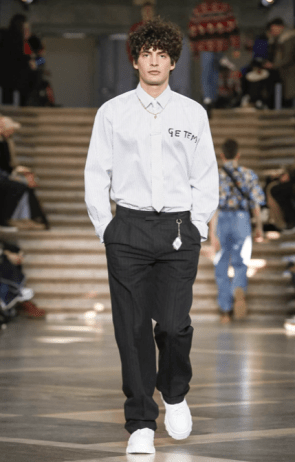 MSGM MENSWEAR FALL WINTER 2018 MILAN19