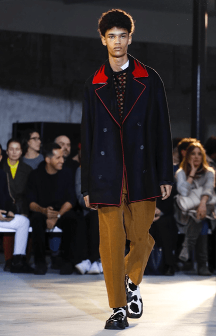 N°21 MENSWEAR FALL WINTER 2018 MILAN12