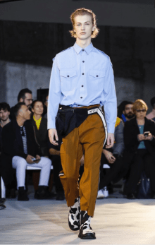 N°21 MENSWEAR FALL WINTER 2018 MILAN22