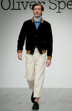 OLIVER SPENCER MENSWEAR FALL WINTER 2018 LONDON4