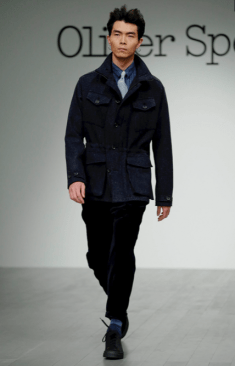 OLIVER SPENCER MENSWEAR FALL WINTER 2018 LONDON9