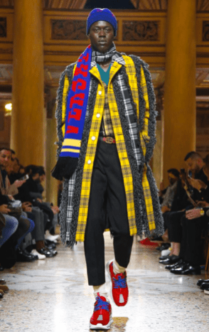 VERSACE MENSWEAR FALL WINTER 2018 MILAN20