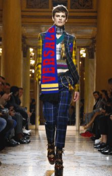 VERSACE MENSWEAR FALL WINTER 2018 MILAN49