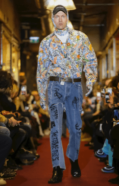 VETEMENTS MENSWEAR FALL WINTER 2018 PARIS1