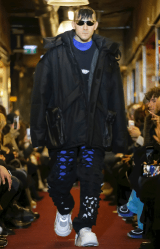 VETEMENTS MENSWEAR FALL WINTER 2018 PARIS38
