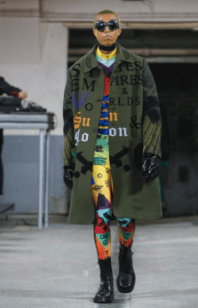 WALTER VAN BEIRENDONCK MENSWEAR FALL WINTER 2018 PARIS21