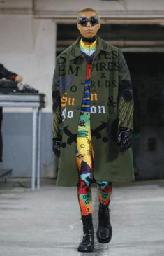 WALTER VAN BEIRENDONCK MENSWEAR FALL WINTER 2018 PARIS21
