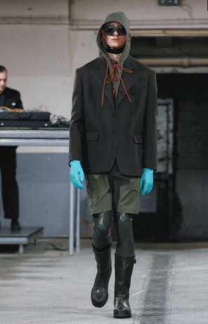 WALTER VAN BEIRENDONCK MENSWEAR FALL WINTER 2018 PARIS7