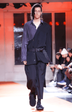YOHJI YAMAMOTO MENSWEAR FALL WINTER 2018 PARIS11