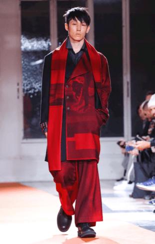 YOHJI YAMAMOTO MENSWEAR FALL WINTER 2018 PARIS19