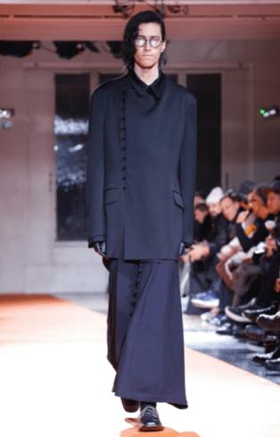 YOHJI YAMAMOTO MENSWEAR FALL WINTER 2018 PARIS20