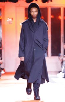 YOHJI YAMAMOTO MENSWEAR FALL WINTER 2018 PARIS29