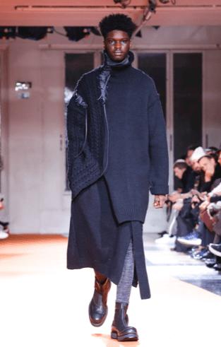 YOHJI YAMAMOTO MENSWEAR FALL WINTER 2018 PARIS32