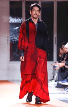 YOHJI YAMAMOTO MENSWEAR FALL WINTER 2018 PARIS34