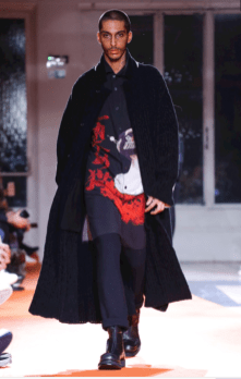 YOHJI YAMAMOTO MENSWEAR FALL WINTER 2018 PARIS6