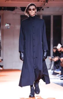 YOHJI YAMAMOTO MENSWEAR FALL WINTER 2018 PARIS8