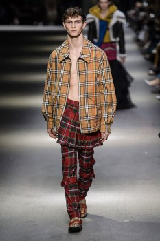 BURBERRY MEN FALL WINTER 2018 LONDON11