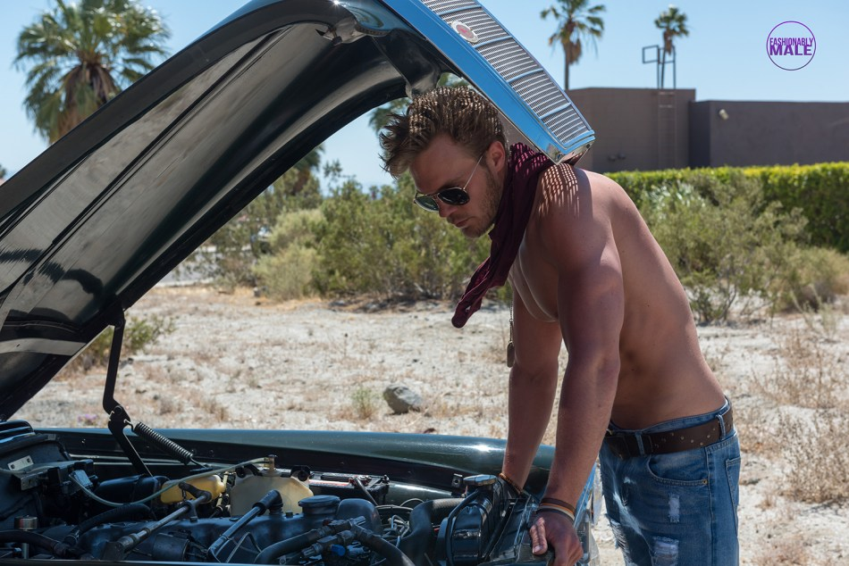 Date a Guy Who Can Fix Your Car: This is Josh Gillon in Pics by Benjamin Veronis