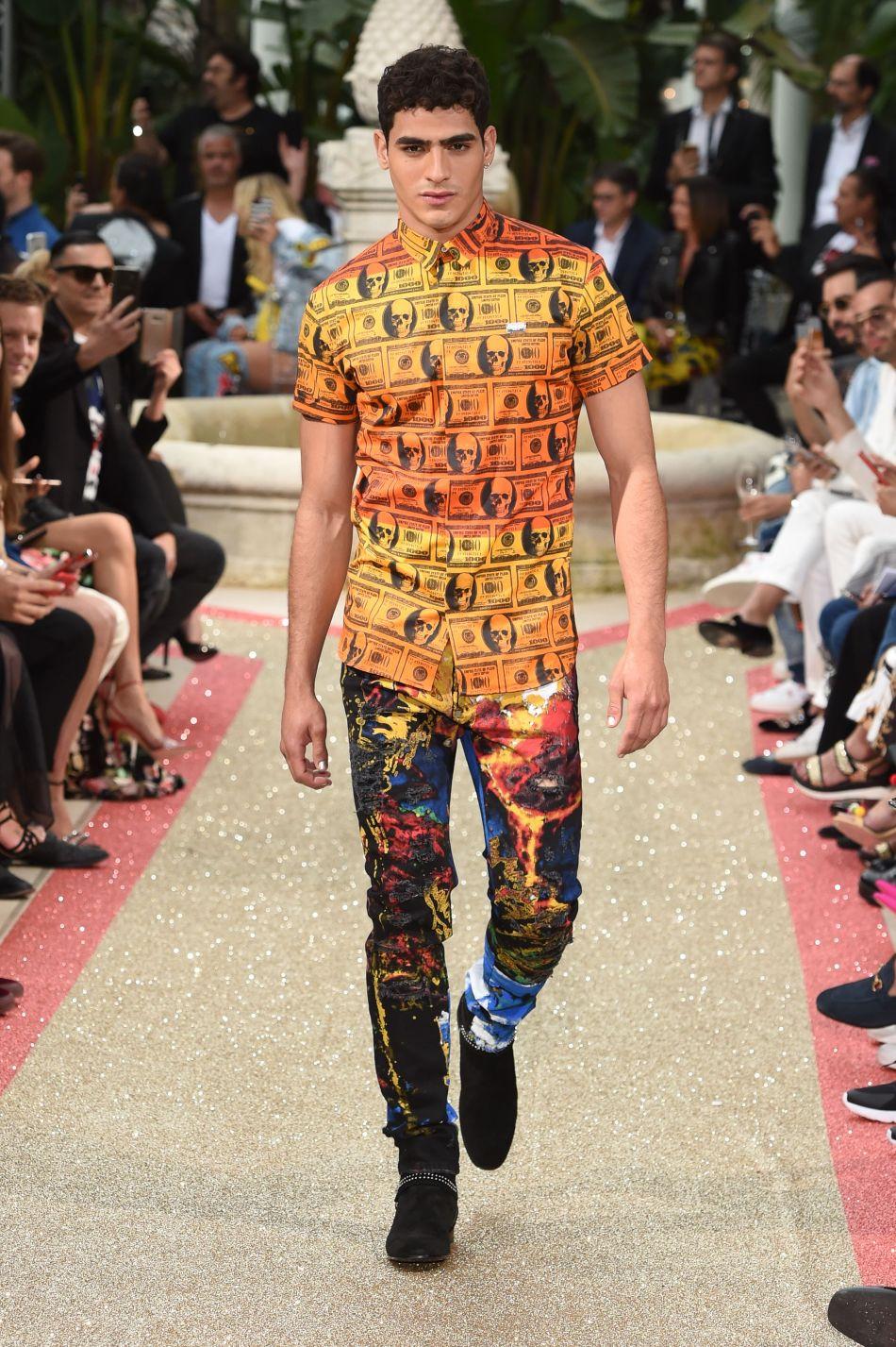 International fashion designer Philipp Plein presents Dynasty the Resort 2019 in Cannes.