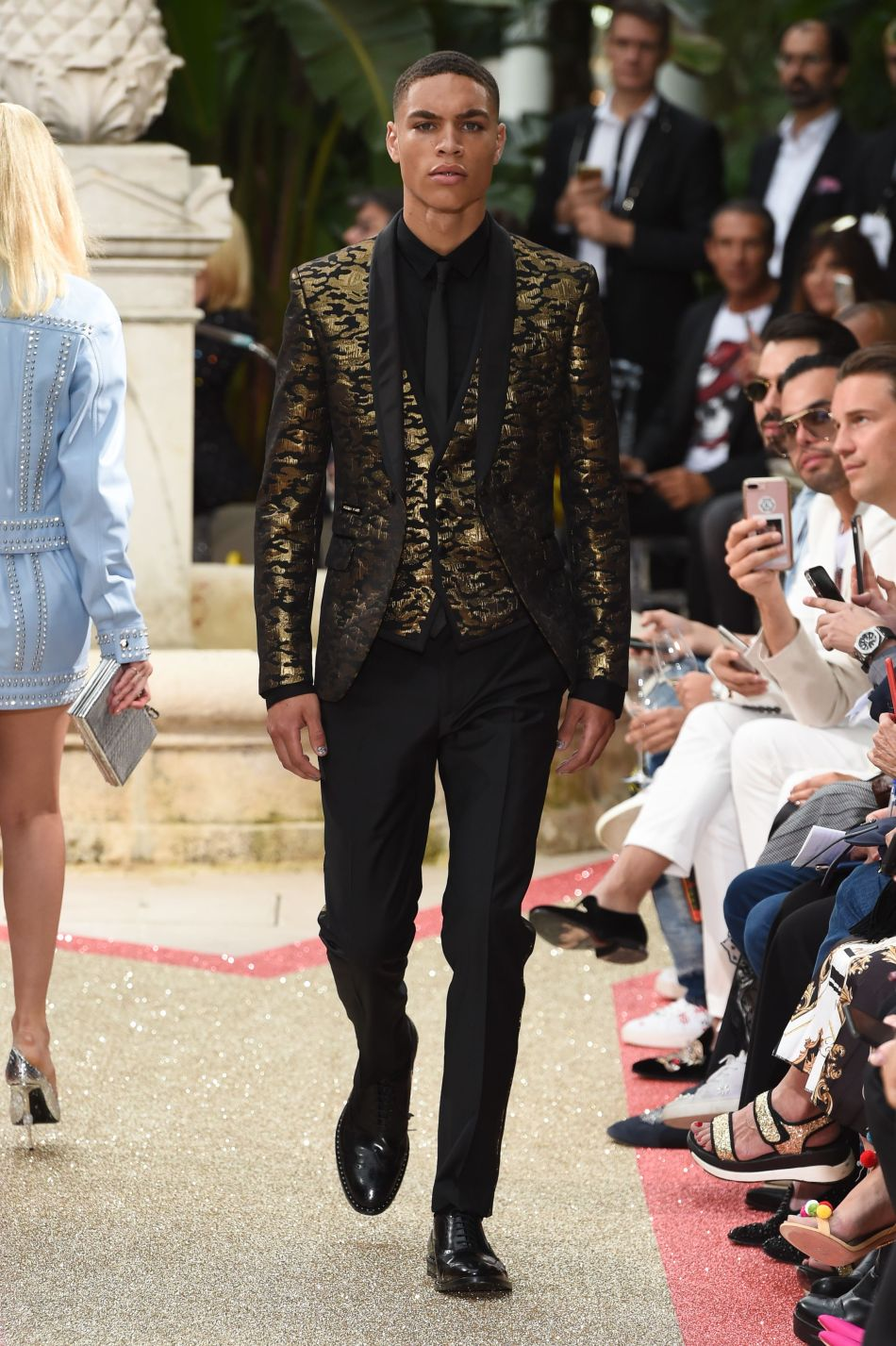 International fashion designer Philipp Plein presents Dynasty the Resort 2019 in Cannes.