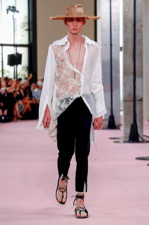 Ann Demeulemeester Menswear Spring Summer 2019 Paris30