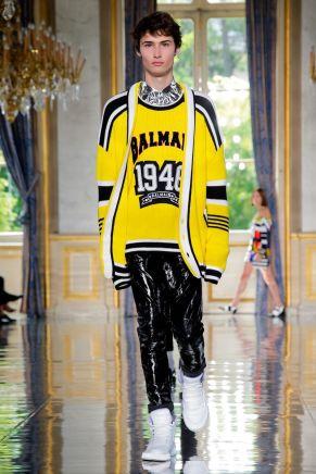 Balmain Homme Menswear Spring Summer 2019 Paris24