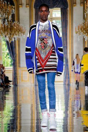 Balmain Homme Menswear Spring Summer 2019 Paris30