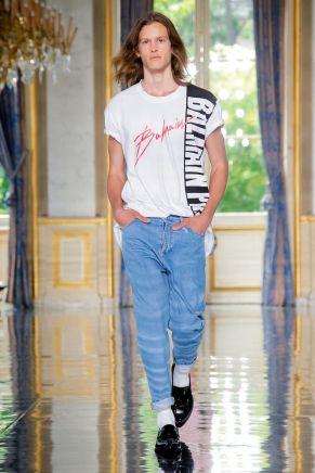 Balmain Homme Menswear Spring Summer 2019 Paris8