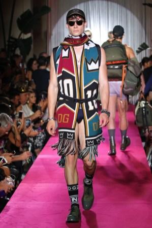 Dolce & Gabbana Naked King Secret Spring Summer 2019 Milan22