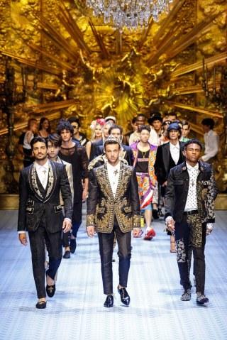 Dolce & Gabbana Spring Summer 2019 Milan138
