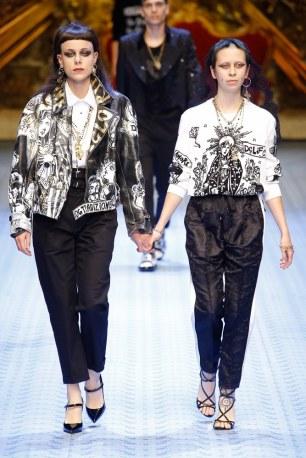 Dolce & Gabbana Spring Summer 2019 Milan18