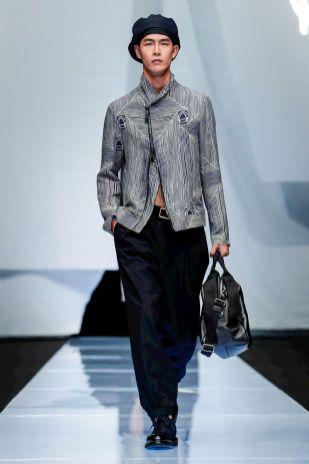 Giorgio Armani Menswear Spring Summer 2019 Milan19