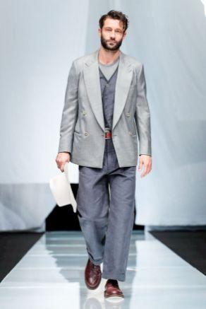 Giorgio Armani Menswear Spring Summer 2019 Milan5