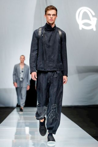 Giorgio Armani Menswear Spring Summer 2019 Milan66