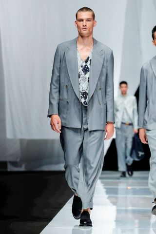 Giorgio Armani Menswear Spring Summer 2019 Milan67