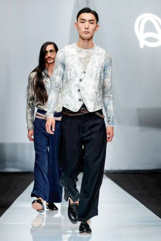 Giorgio Armani Menswear Spring Summer 2019 Milan83