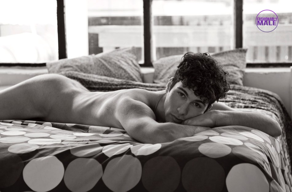 In bed with a Greek Male Model: Orestis Maniatas pics by Andreas Constantinou