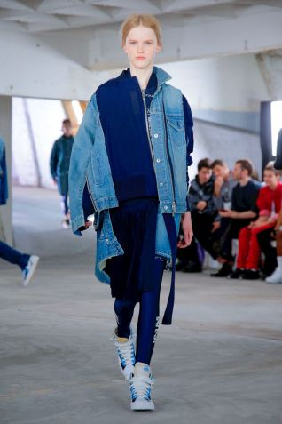 Sacai Menswear Spring Summer 2019 Paris15