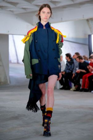 Sacai Menswear Spring Summer 2019 Paris49