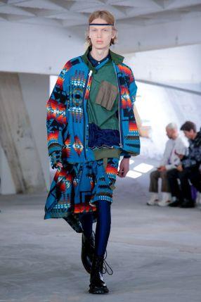 Sacai Menswear Spring Summer 2019 Paris59