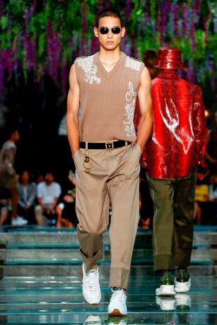 Versace Menswear Spring Summer 2019 Milan17