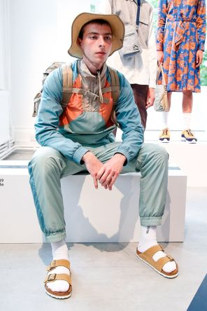 Wood Wood Menswear Spring Summer 2019 London24