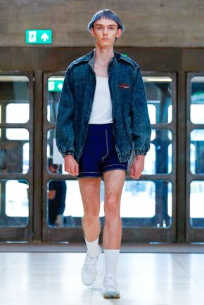 Xander Zhou Menswear Spring Summer 2019 London11